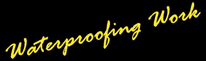Waterproofing Work